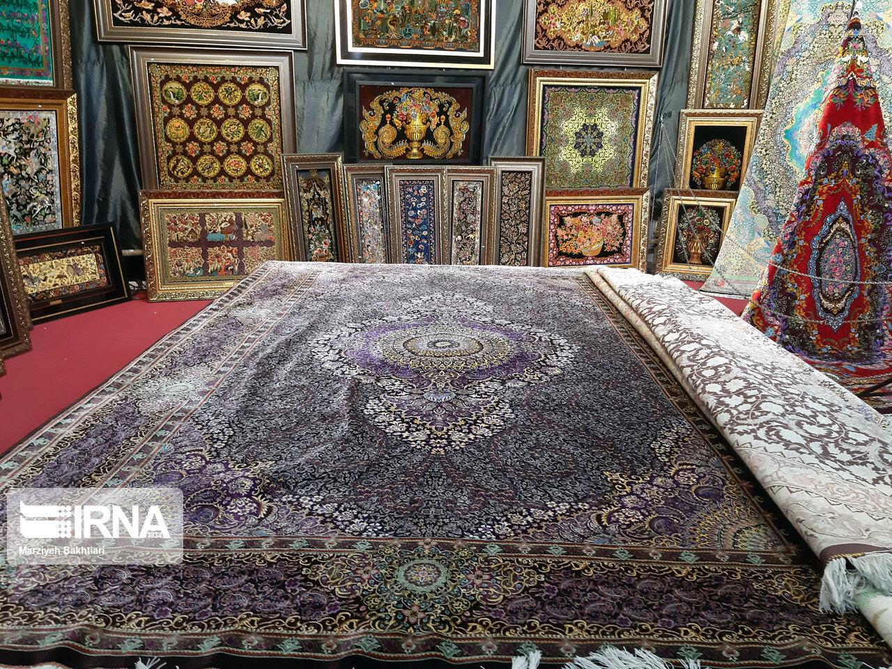 İran takviminin ilk 4 ayında el dokuma halı ihracatından 30 milyon dolar gelir sağlandı