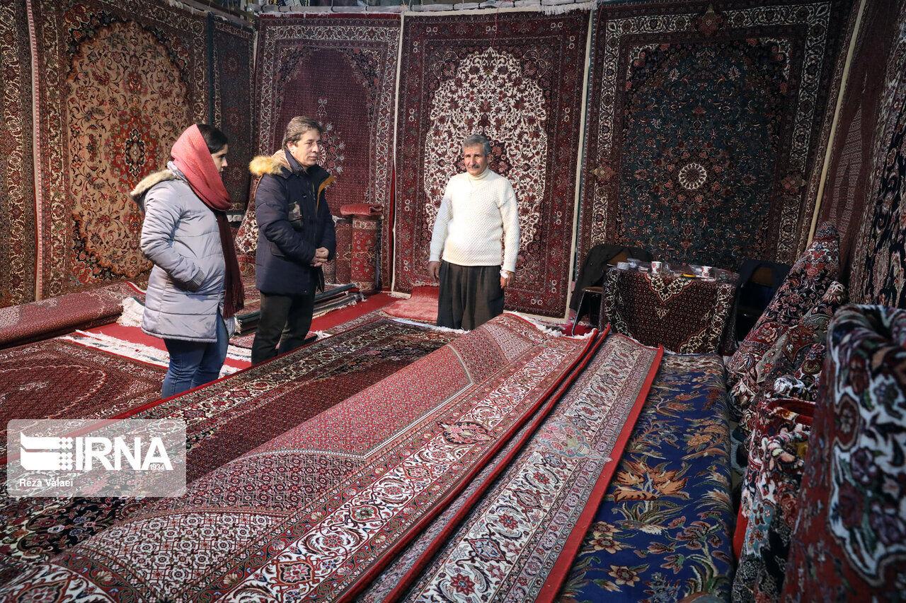 10 aylık dönemde İran'da 1.8 milyon metre kare el dokuma halı üretildi